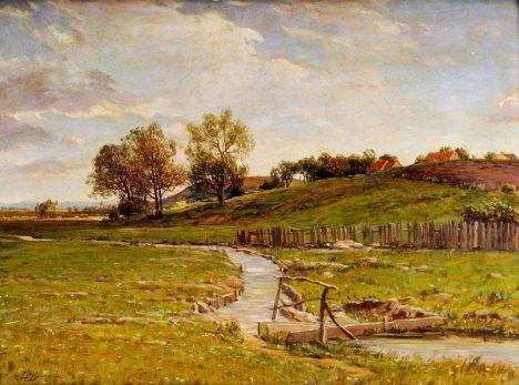 Působivé krajiny jsou doménou Zdeňčiny malířské tvorby.