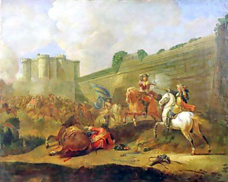 Paříž se králi vzdá teprve v roce 1653.