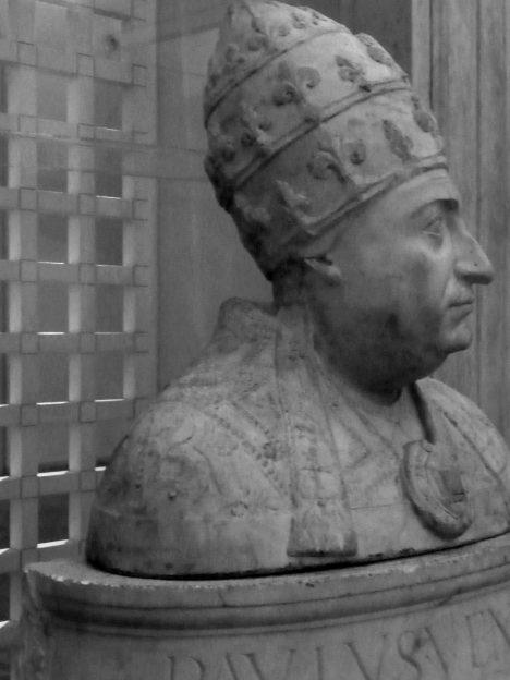 Papež Pavel II. českého krále vyobcuje z církve.