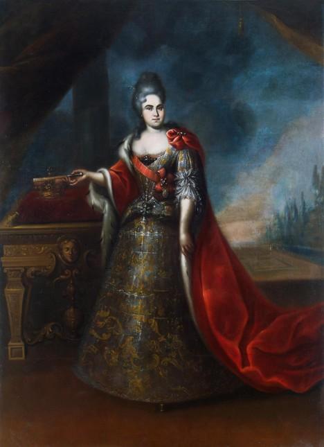 Petrova manželka Kateřina I. Ruská. Postavení žen carovi leží velmi na srdci.