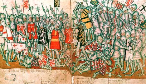 Po bitvě u Worringenu v roce 1288 se Jan I. stává čestným předsedou bruselských sládků