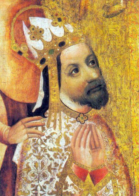 Podobizny císaře Karla IV. bývaji značně idealizované.