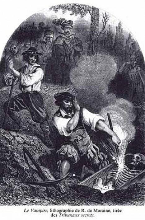 Pohřbené kostry vykazující podivné znaky budily v lidech hrůzu.