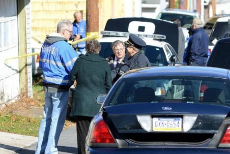 Policejní vyšetřování vraždy  Troye LaFerrari.