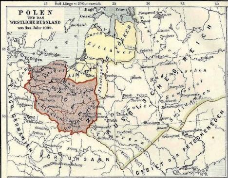 Polské území se za Boleslavovy vlády výrazně rozroste