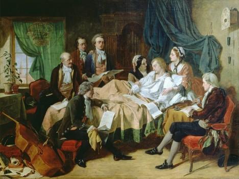 Poslední hodiny Mozartova života jsou opravdu kruté.