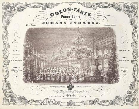 Pozvánku na tanec s hudebním dopovodem od Johanna Strausse Vídeňáci nadšeně přijímají.