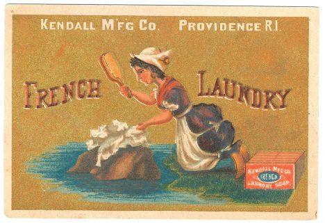 Praní oděvů je díky použití mýdla hračka.