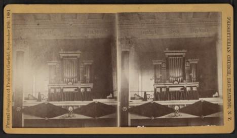Prezidentův pohřeb v roce 1881. Hlava státu umírá na následky atentátu po pouhých čtyřech měsících úřadování.