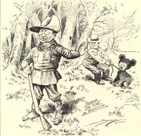 Prezidentova novinová karikatura s medvídětem vzbudí obrovský ohlas.