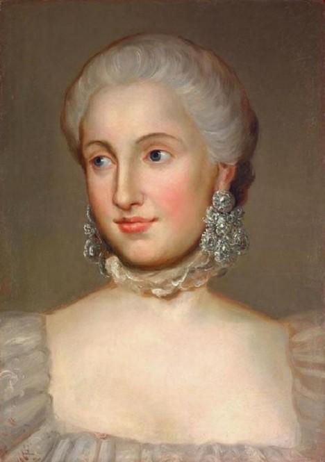 První manželku Isabelu Parmskou velice rakouský panovník velmi miloval. Její smrt se pro něj stala velkou ranou.