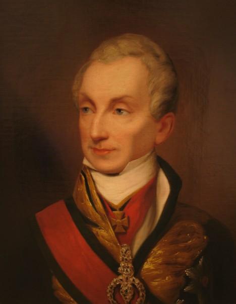 Rakouský ministr zahraničí Klemens Metternich svými pletichami zajistí sňatek rakouské princezny.