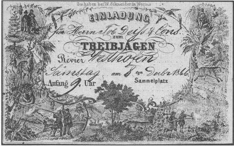 Razítko z 5. prosince 1866 má nejstarší dochovaná německá pohlednice.