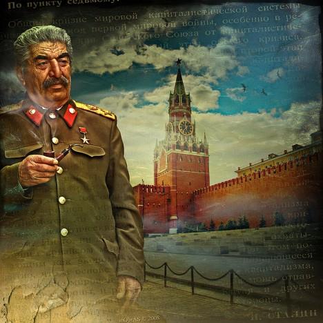 Stalin si dával záležet na tom, aby na veřejnosti vypadal, že s procesy nemá nic společného.