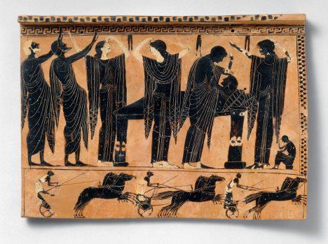 Sypání popela na hlavu a nedostatečná hygiena se v Řecku promíjí jenom při úmrtí někoho blízkého.