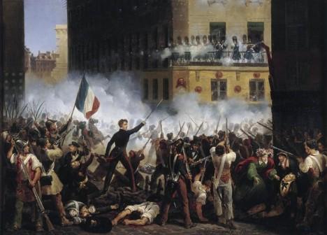 Třídenní revoluce v roce 1830 ukončí vládu prastaré dynastie Bourbonů.