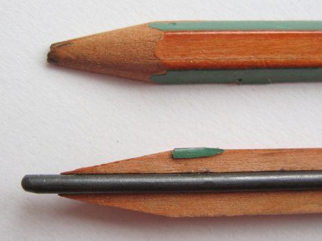 Tuha je nejdůležitější součástí tužky. Existuje dokonce 19 tvrdostí.