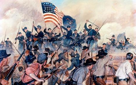 U Vicksburgu dosáhne Grant opravdu skvělého vítězství.