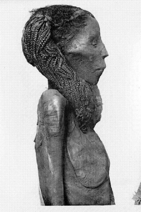 Výzkumy potvrdily, že mumie královniny vychovatelky Rai má ucpané cévy.