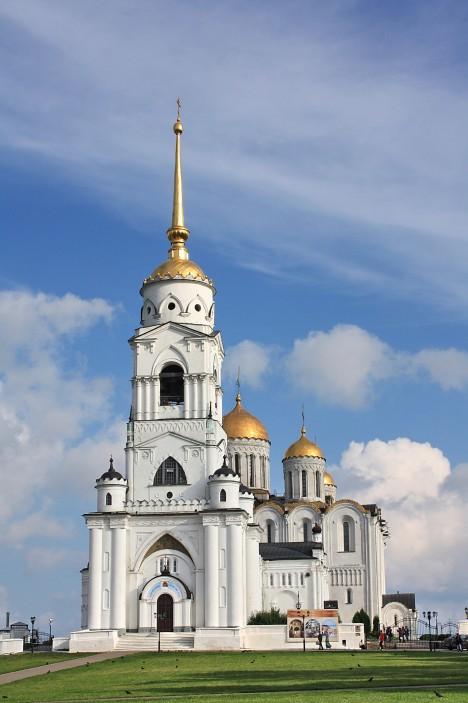 V chrámu v ruském Vladimiru mohli lidé obdivovat vzácný obraz Panny Marie. Dnes už se ale nachází v moskevské galerii.