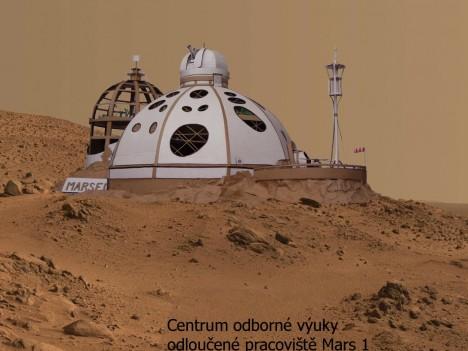 VOŠ stavební a SPŠ stavební arch. Jana Letzela Náchoda, 1.místo, 2014, Dům na Marsu.