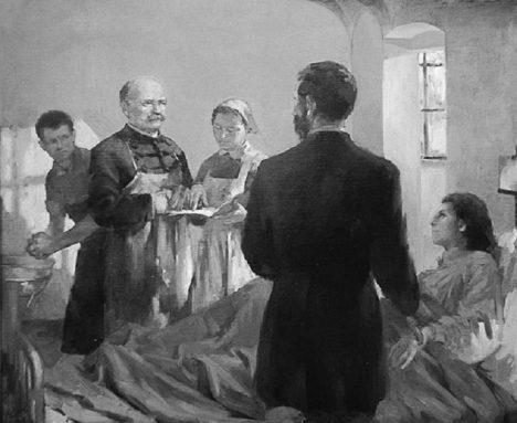 Ve vídeňské porodnici umírá krátce po porodu každá šestá žena.