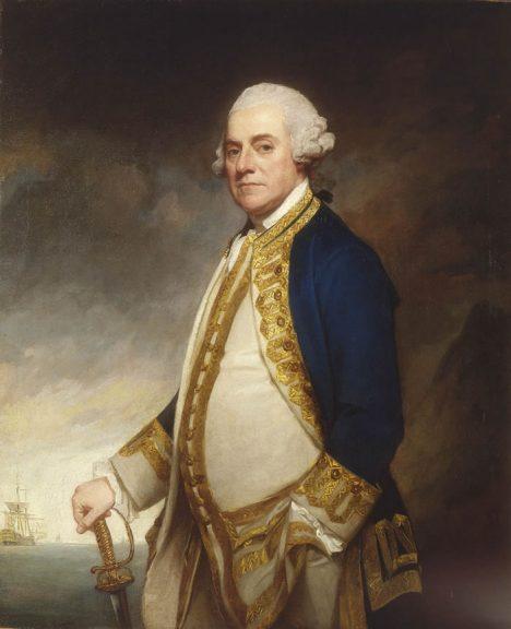 Velitel britského námořnictva admirál Charles Hardy se pořádné bitvy nakonec nedočká.