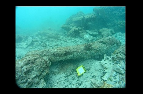 Vrak Kiddovy lodi byl objeven v roce 2007.
