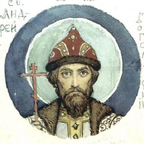 Vyšebrodský princ Andrej Bogoljubskij uposlechne příkaz posvátného zjevení.