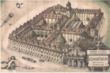Za své pražské sídlo si jezuité vyberou klášter v Klementinu. Budování celého komplexu trvá tři čtvrtě století.