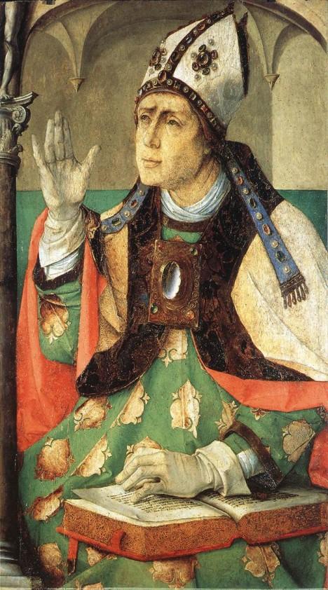 Zakladatel mnišského řádu Augustiniánů, Augustin z Hippa, se snaží kněze přimět ke společnému životu.