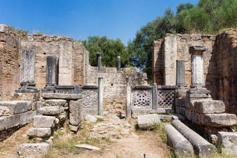 Zbytky starověké Olympie. Řádění běsnícího moře kdysi proměnilo město v ruiny.