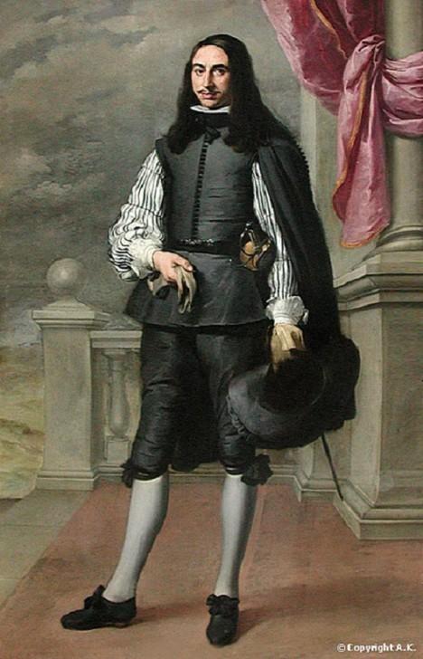 Černé šaty jsou univerzálním úborem u habsburského dvora. Na oblékání si zde potrpí.