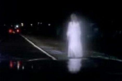 duch v bílém