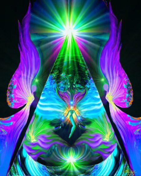 energie z pyramidy