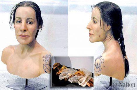 Takto nějak prý žena vypadala.