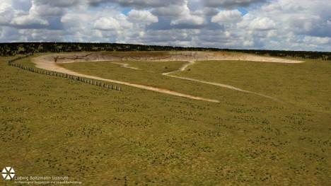 Naleziště v oblasti Durrington Walls se nachází méně než 3 kilometry od Stonehenge, až moderní přístroje odhalily, co se skrývá podzemí okolo oblého valu.