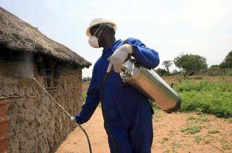 DDT ukládající se v přírodě i v lidech nebo malárie? Vyberte si...