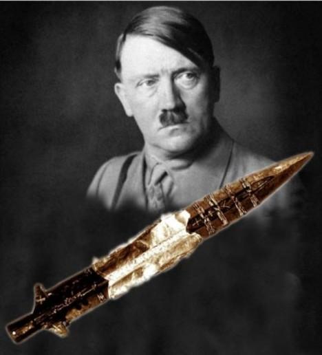 kopí osudu a Hitler