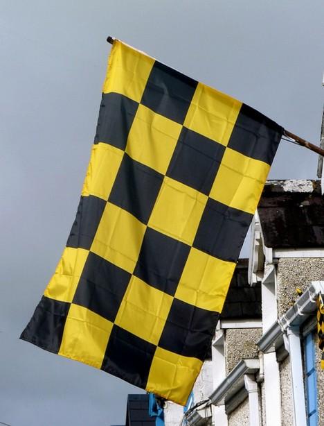 lavina vlajka konec