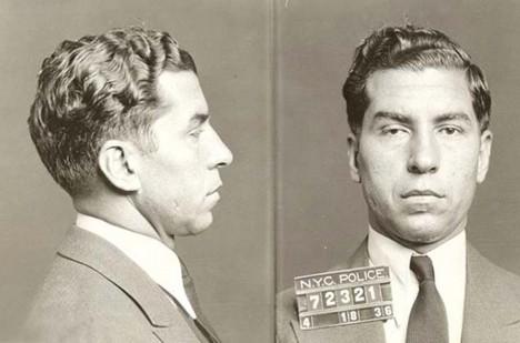 Lucky Luciano, jeden z nejvlivnějších mafiánů všech dob.
