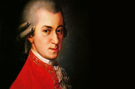 Wolgang Amadeus Mozart.