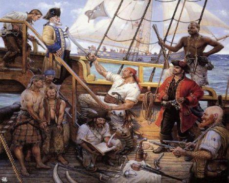 přepadení lodi