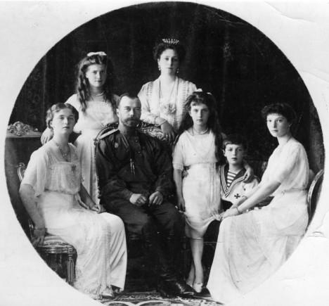 Scherl Bilderdienst Nikolaus II. und Familie