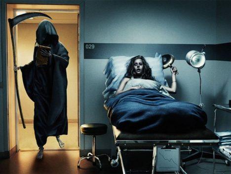 smrtka v nemocnici