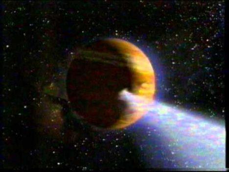srážka s Jupiterem