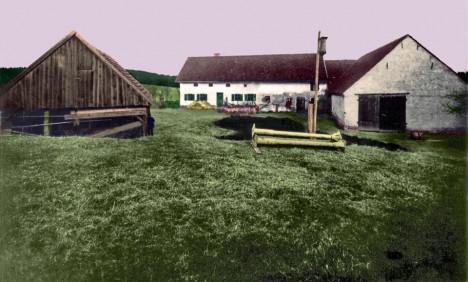 Takto vypadal statek v roce 1922.