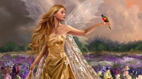 víla s křídly