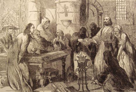 výslech Jakuba z Molay