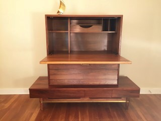 mid century modern secretary Dania Series by American of Martinsville